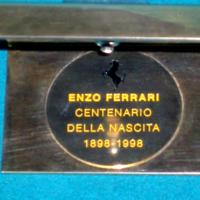 Targa Commemorativa E.Ferrari